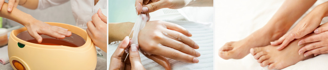 Luxurious Paraffin Hands Treatment