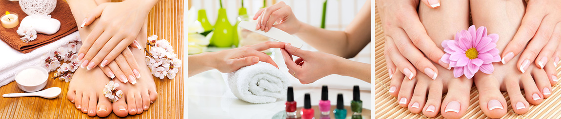 luxury manicure and pedicure in central london