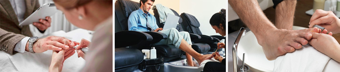 Men's Luxury Manicure & Pedicure in london